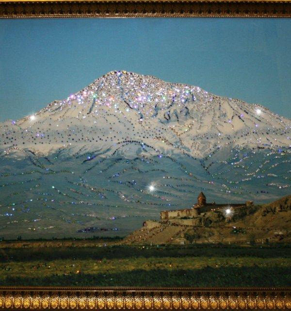 "Картина Swarovski ""Гора Арарат (Сис Масис ...: olpi.ru/product/kartina-swarovski-gora-ararat-sis-masis-1409-gf"
