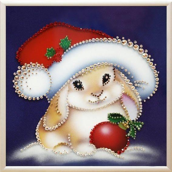 Про снег, открытки год зайка