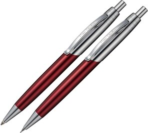 Набор Pierre Cardin PEN and PEN: ручка шариковая+карандаш PC5902BP/SP-gr